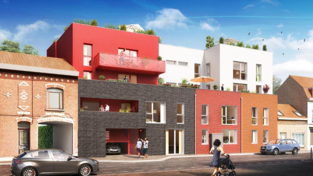 Programme neuf a vendre roncq immobilier roncq for Location garage roncq