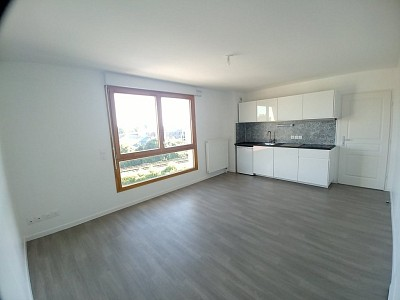 APPARTEMENT T2 A LOUER - LILLE LIMITE RONCHIN - 45,4 m2 - 650 € charges comprises par mois