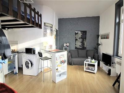 STUDIO MEZZANINE A VENDRE - LILLE VAUBAN - 20 m2 - 108500 €