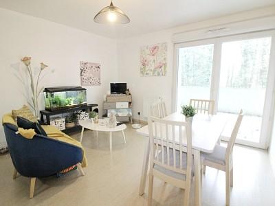 T2 avec balcon et parking - ST ANDRE LEZ LILLE - 40 m2 - VENDU