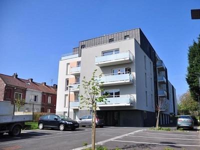 APPARTEMENT T2 A LOUER - CROIX - 50,49 m2 - 608 € charges comprises par mois