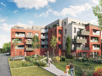 APPARTEMENT T2 NEUF A VENDRE - COMINES - 41,87 m2 - 145000 €