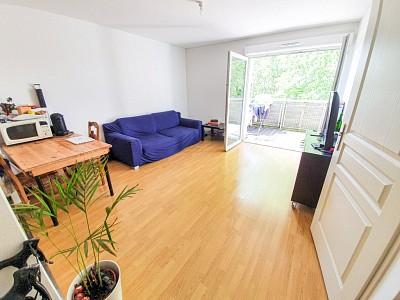 T2 avec balcon et place de parking - ST ANDRE LEZ LILLE - 41,04 m2 - VENDU