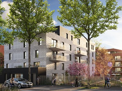 STUDIO NEUF A VENDRE - CROIX CENTRE - 31,39 m2 - 152000 €