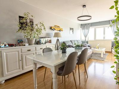 APPARTEMENT T3 A VENDRE - MONS EN BAROEUL - 68 m2 - 129500 €