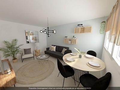 STUDIO A VENDRE - LILLE VAUBAN - 26,89 m2 - 149500 €