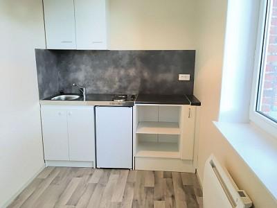 APPARTEMENT T2 A LOUER - ARMENTIERES - 30,87 m2 - 420 € charges comprises par mois