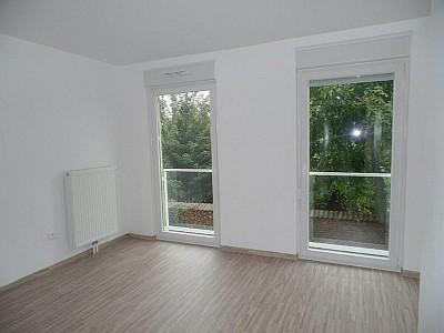 APPARTEMENT T2 A LOUER - WATTIGNIES - 45,47 m2 - 597 € charges comprises par mois