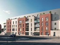 APPARTEMENT T2 NEUF A VENDRE - ARMENTIERES - 41,72 m2 - 130800 €