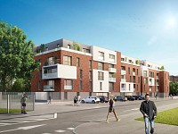 APPARTEMENT T3 NEUF A VENDRE - LOOS - 66,3 m2 - 256000 €