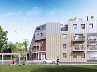 APPARTEMENT T3 NEUF A VENDRE - MARCQ EN BAROEUL, proche grands axes - 75,65 m2 - 315000 €