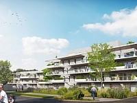 APPARTEMENT T3 NEUF A VENDRE - VILLENEUVE D ASCQ PROCHE GOLF DE BRIGODE - 73,29 m2 - 346000 €