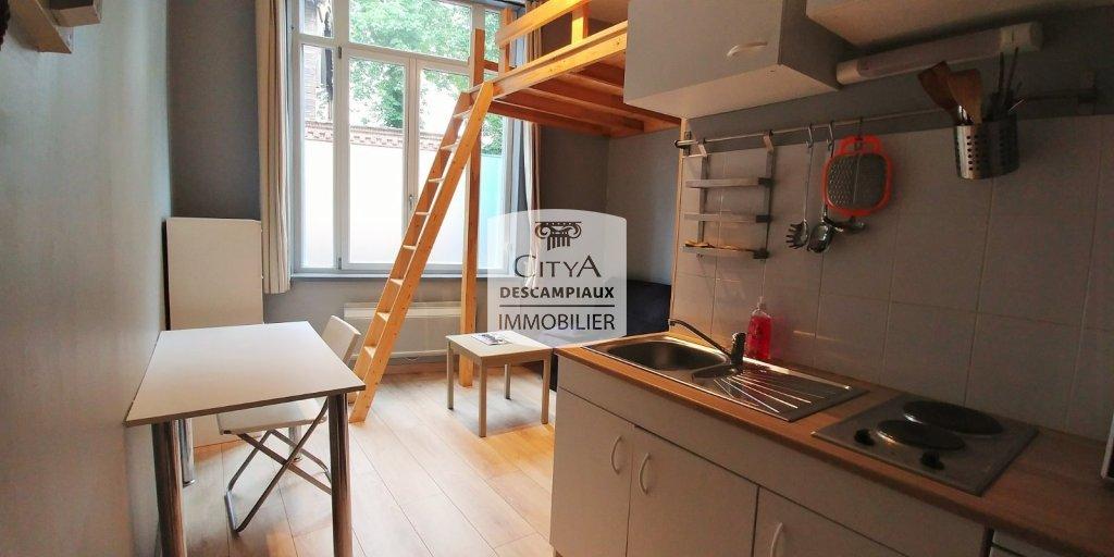 STUDIO A LOUER - LILLE Gambetta - 14,53 m2 - 395 € charges comprises par mois