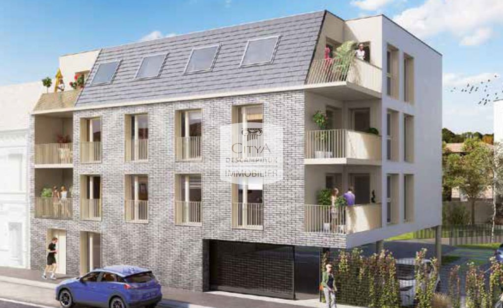 APPARTEMENT T2 - FACHES THUMESNIL - 44,61 m2 - LOUÉ