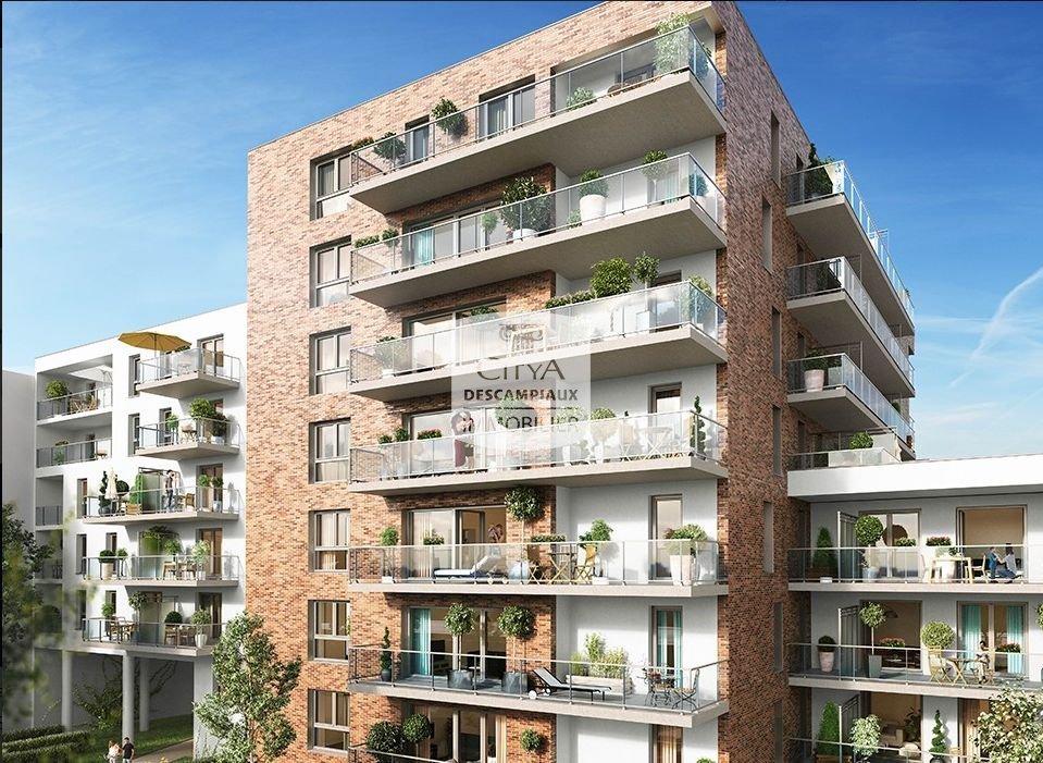 APPARTEMENT T2 A LOUER - LILLE WAZEMMES - 48,4 m2 - 760 € charges comprises par mois