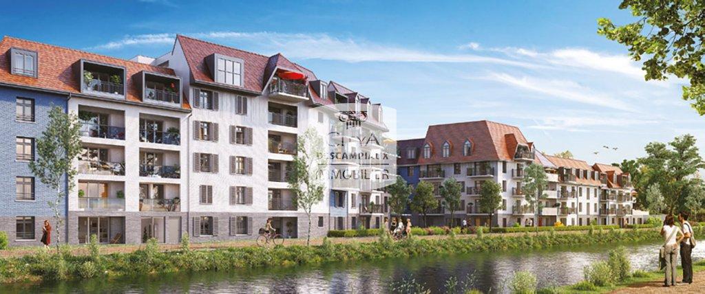 APPARTEMENT T2 A LOUER - WASQUEHAL - 42,65 m2 - 695 € charges comprises par mois