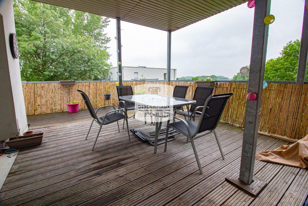 T3 avec 2 places de parking et terrasse A VENDRE - ST ANDRE LEZ LILLE - 66 m2 - 249000 €
