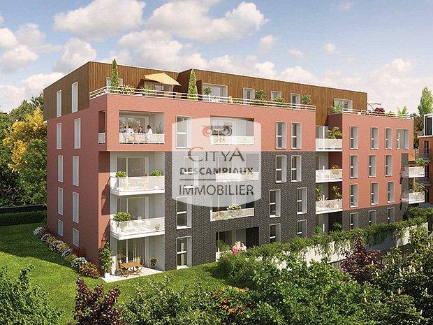 APPARTEMENT T4 A LOUER - HAUBOURDIN - 79,66 m2 - 900 € charges comprises par mois