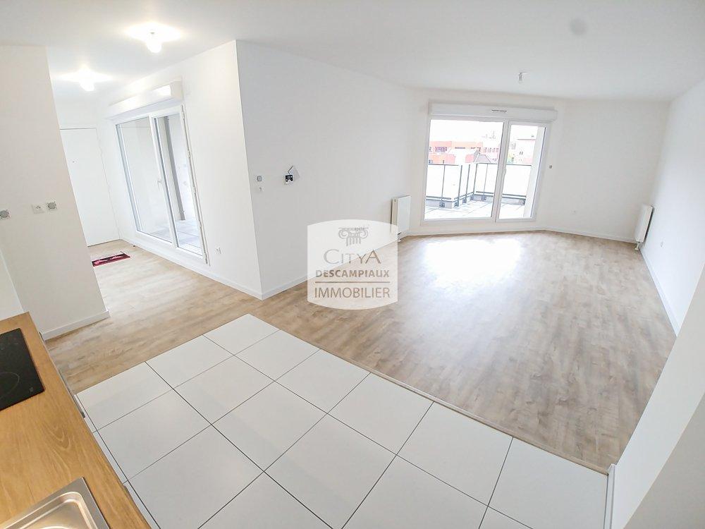 APPARTEMENT T4 A LOUER - LA MADELEINE - 77,96 m2 - 1110 € charges comprises par mois
