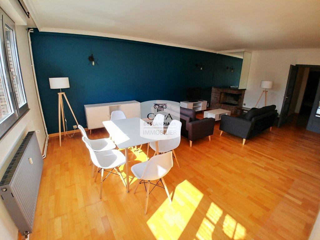 APPARTEMENT T4 A LOUER - LOOS - 115,26 m2 - 1460 € charges comprises par mois