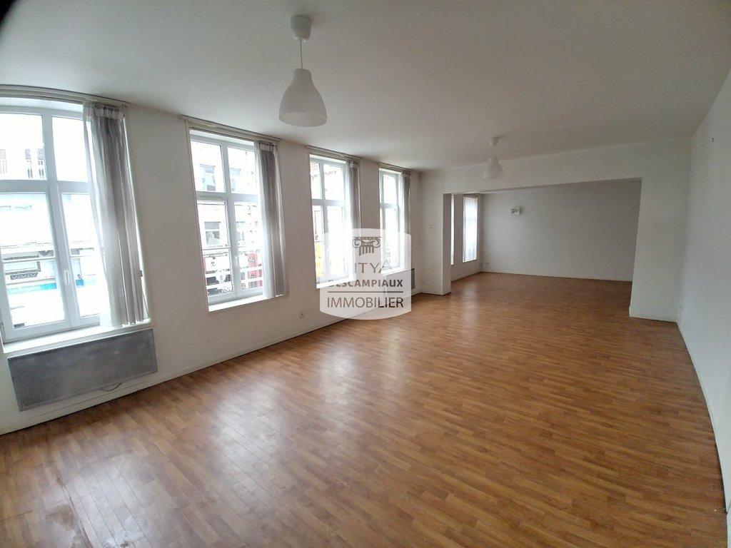APPARTEMENT T6 A LOUER - LILLE GAMBETTA - 176,47 m2 - 1450 € charges comprises par mois