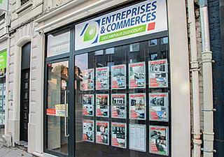 DESCAMPIAUX DUDICOURT Immobilier AGENCE ENTREPRISES ET COMMERCES
