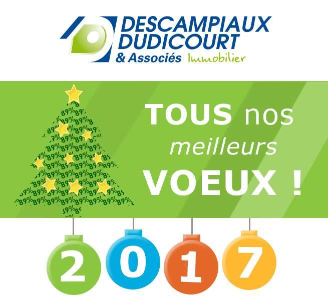 Citya Descampiaux vous souhaite ses Meilleurs Voeux pour 2017 !