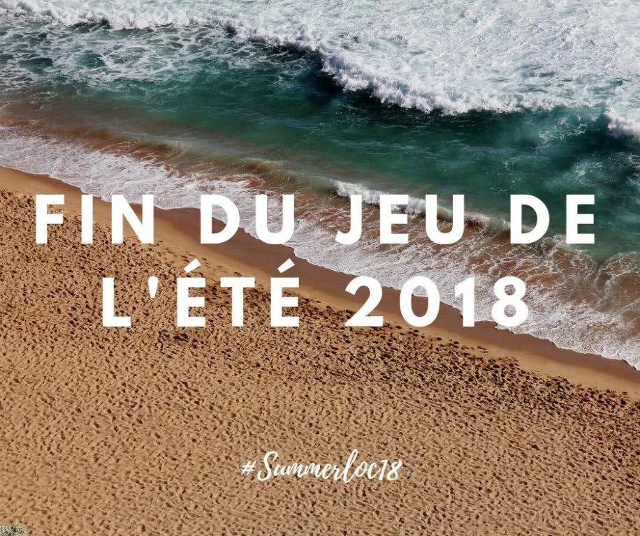 Fin du jeu Summerloc 2018 !