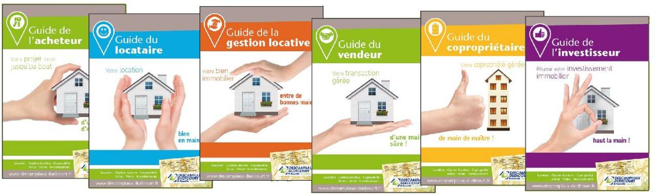 N°99 : Citya Descampiaux vous présente ses 6 nouveaux guides d'informations