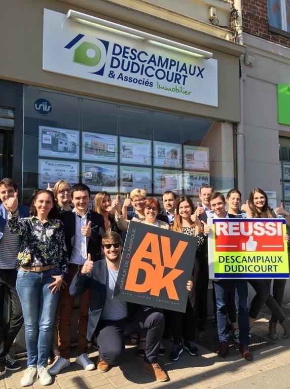 L agence Lambersart Lomme au coeur des commerces de l Avenue de Dunkerque !
